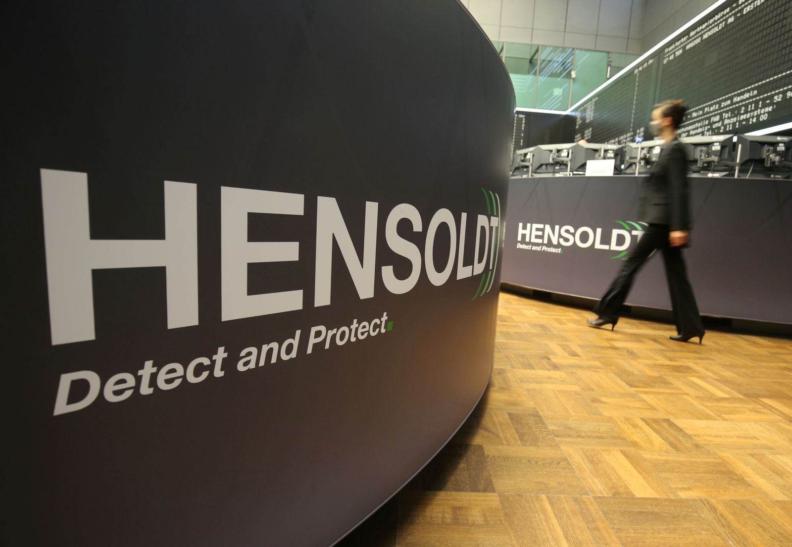 FILE PHOTO: German defense supplier Hensoldt AG shares start trading after IPO