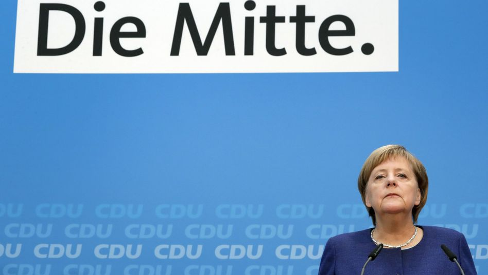 Angela Merkel, CDU-Vorsitzende und Kanzlerin