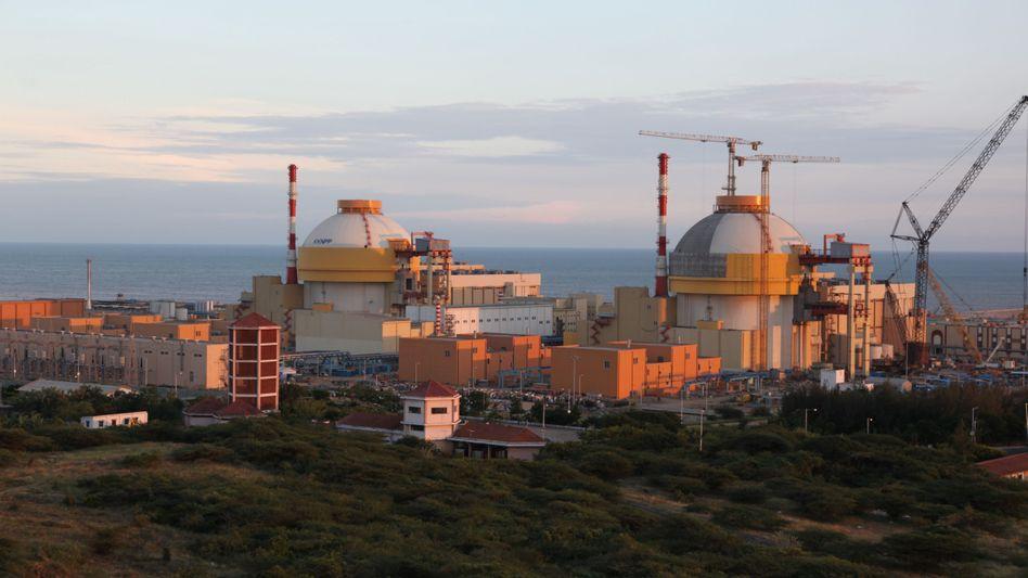 AKW Kudankulam in Indien (Januar 2010): Schwache Atomaufsichtsbehörde