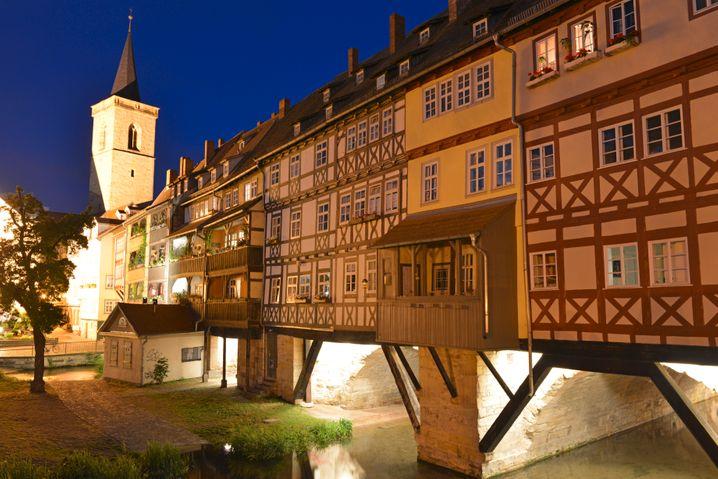 Erfurt: Die Krämerbrücke