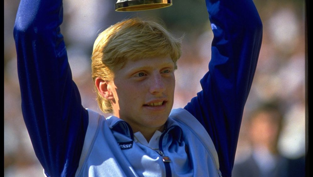 Boris Becker: Up and down, up and down