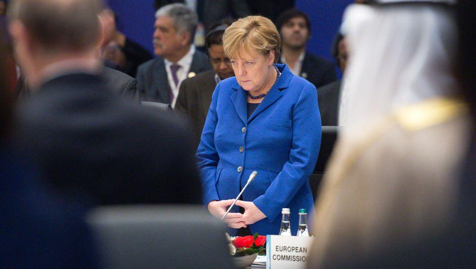 """Angela Merkel beim G20-Treffen: """"Wir schaffen das"""""""