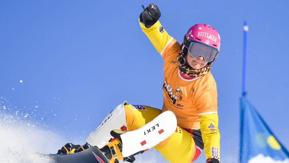 Ramona Hofmeister steht kurz vor dem Gewinn des Gesamtweltcups(Archivfoto)