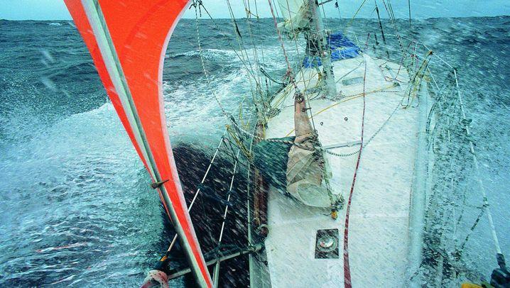 Allein auf dem Meer: Immer gegen den Wind