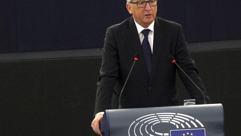EU-Kommissionspräsident Juncker: Einlagensicherung vorantreiben