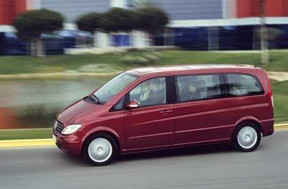 Ganz und gar gelungen: Der Viano mit dem Commonrail-Turbodiesel entwickelt ein Drehmoment von 330 Newtonmeter