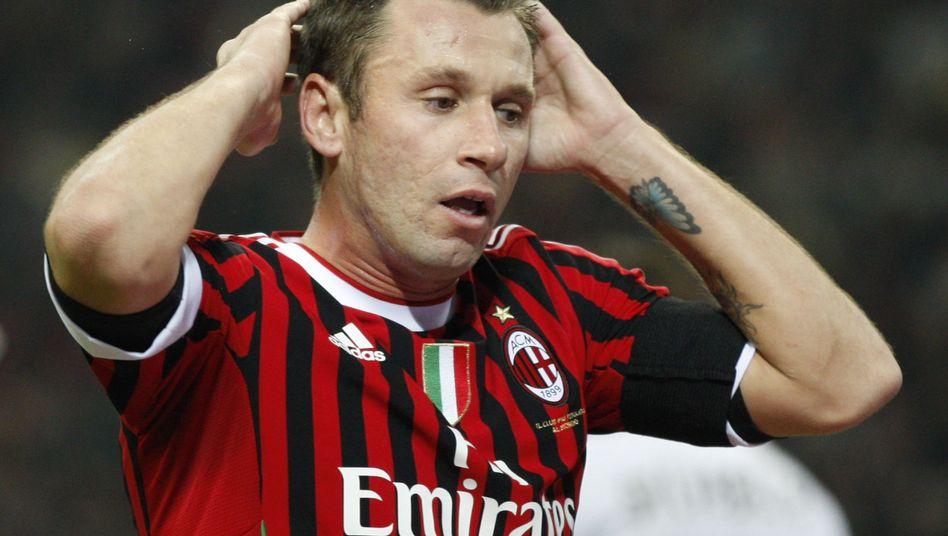 Milan-Profi Cassano: Besserung in Sicht