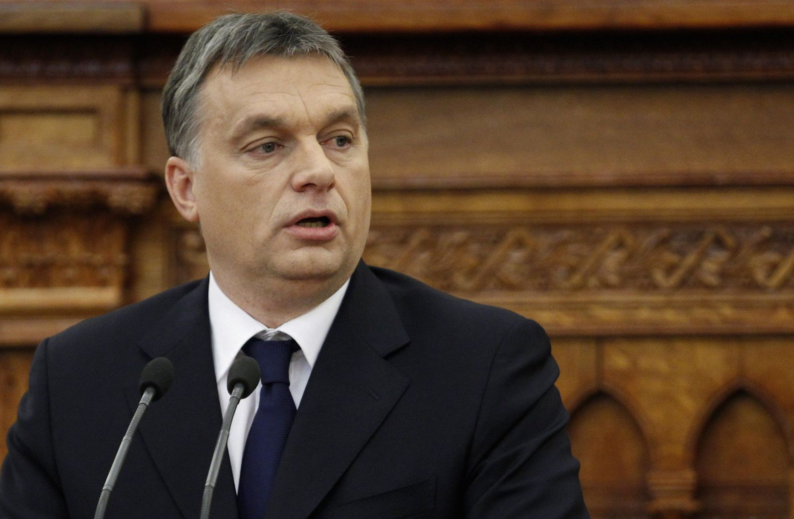 Ungarn / Budapest / Viktor Orban / Hebel XXL