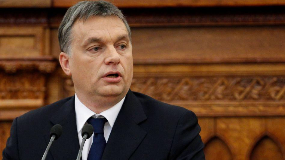 Premier Orbán: Verfassungsändernde Zweidrittelmehrheit