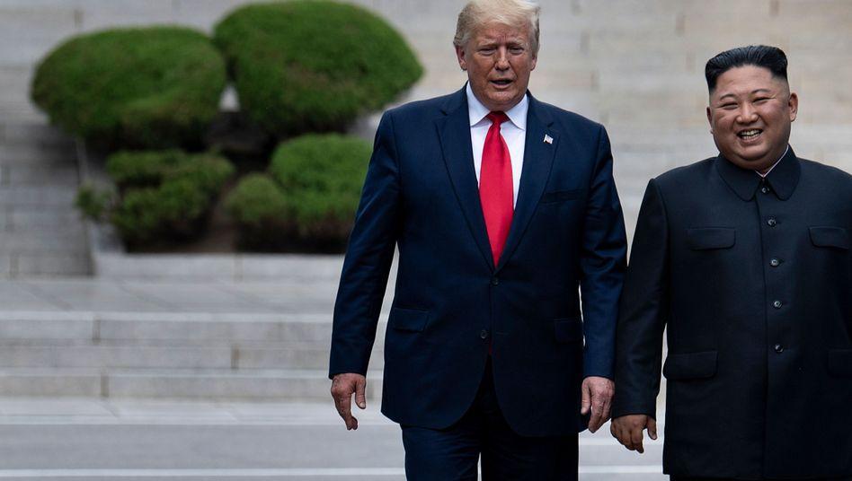 """Trump und Kim im Juni in Panmunjom: """"Großartige und schöne Vision für sein Land"""""""