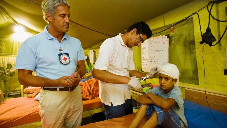 Kriegschirurg Steiger: Halbtote Menschen, die man in der Schubkarre zur Klinik karrt