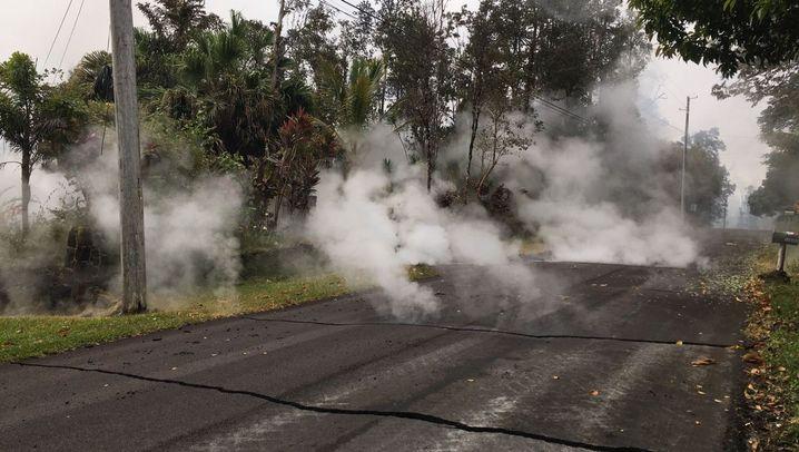 Vulkane: Risse in der Erde