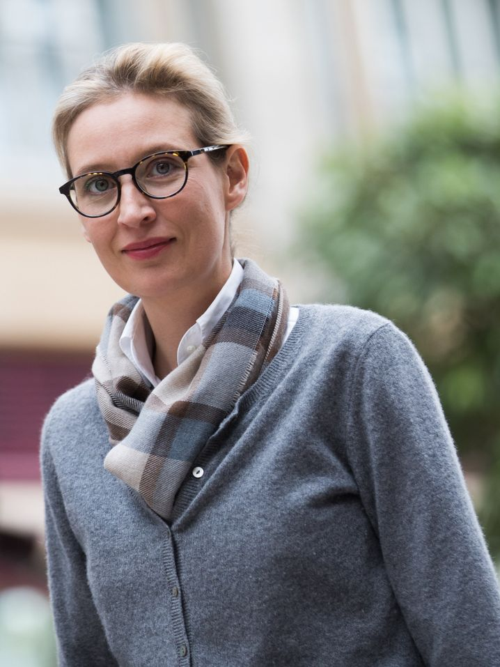 "Ökonomin und Populistin Weidel: ""Who is the real Alice?"""
