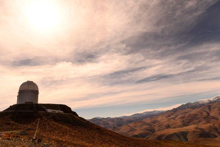 La-Silla-Observatorium der Europäische Südsternwarte: Perfekter Blick auf den Himmel