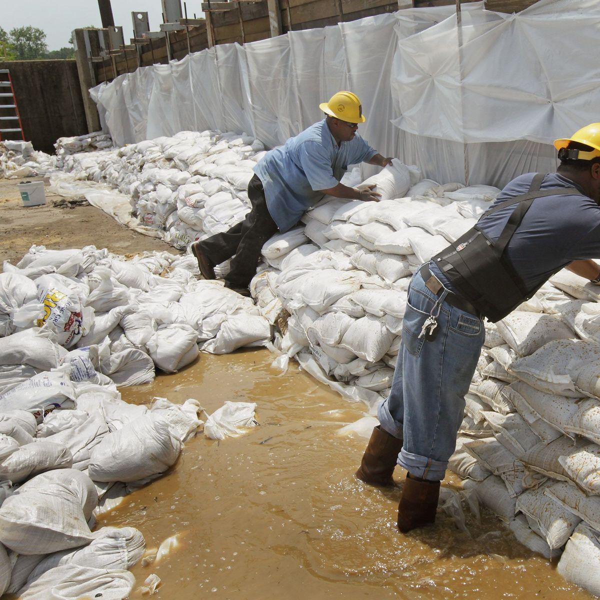 Hochwasser Am Mississippi Memphis Rustet Sich Fur Jahrhundertflut Der Spiegel