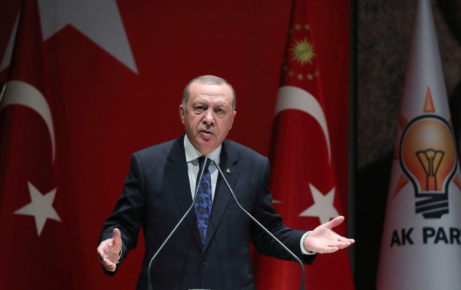 AKP-Parteitreffen in der Türkei