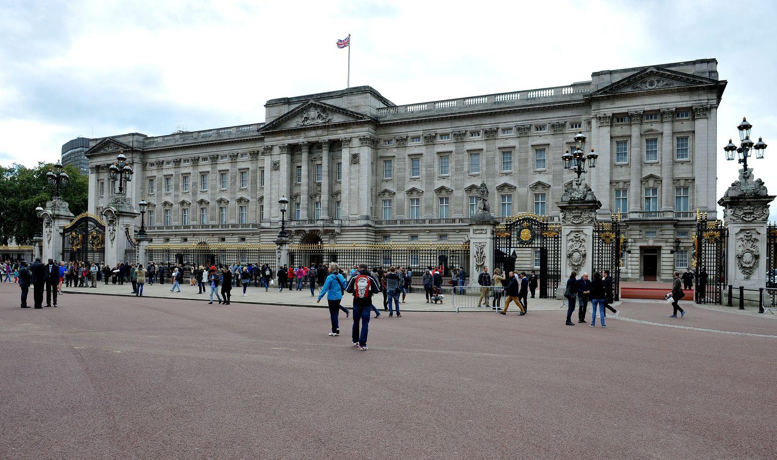 Buckingham Palace intruder arrest