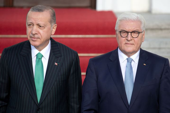 Erdogan, Steinmeier