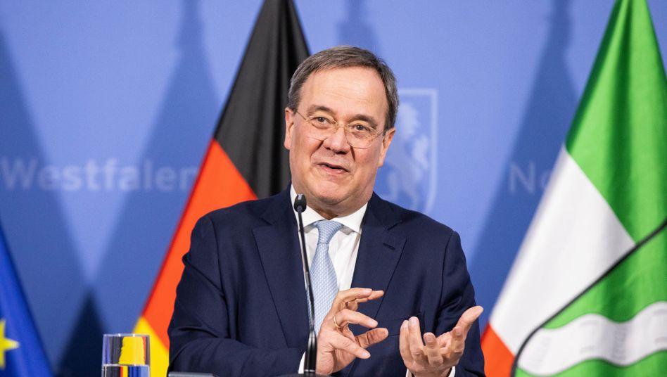 Armin Laschet, ein Mann mit vielen Ämtern: Ministerpräsident in NRW, CDU-NRW-Landeschef, CDU-Bundeschef und Kanzlerkandidat