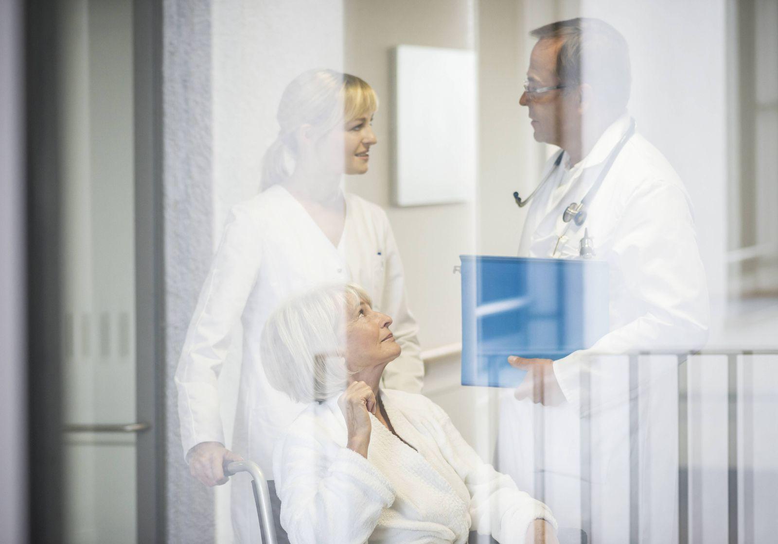 EINMALIGE VERWENDUNG Krankenhaus / Pflege