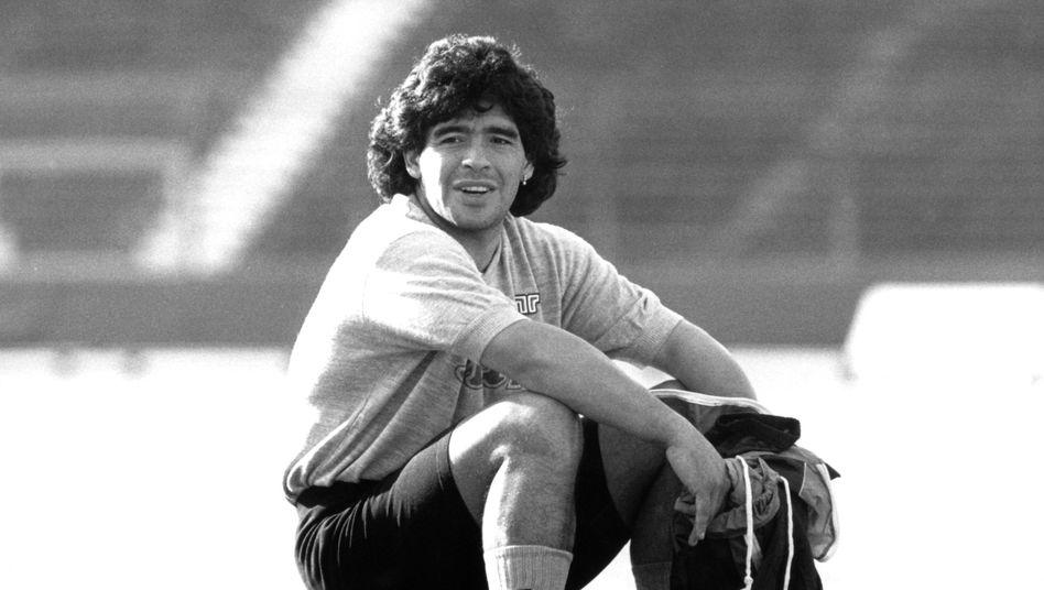 Diego oder Maradona - das ist hier die Frage