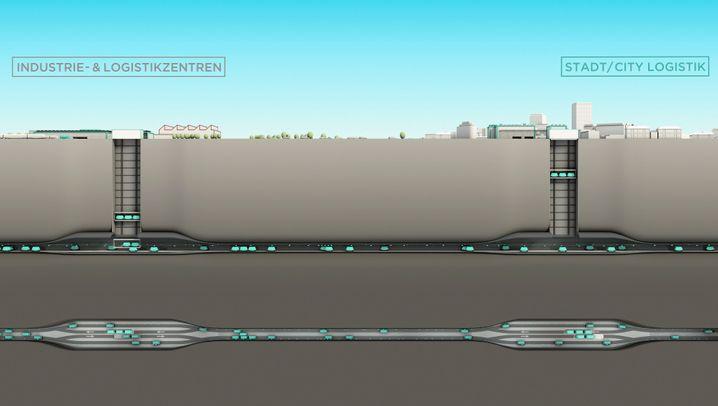 Cargo Sous Terrain: Schweizer planen Zukunft des Warentransports