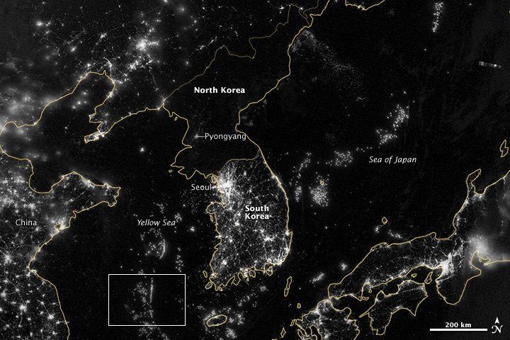 Südkorea/ Nordkorea/ Südkorea