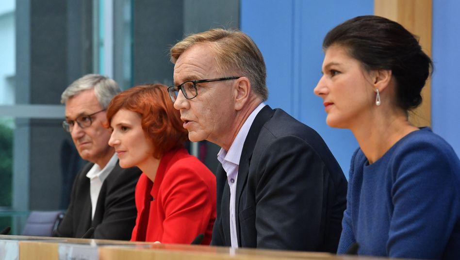 Riexinger, Kipping, Bartsch, Wagenknecht