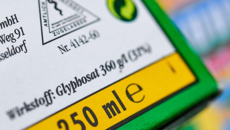 Unkrautvernichtungsmittel, das den Wirkstoff Glyphosat enthält