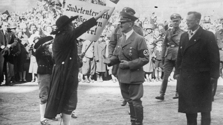 Sudetenkrise: Attacke auf die Tschechoslowakei