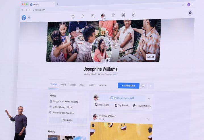 Die Facebook-Website und die App bekommen ein neues Design.