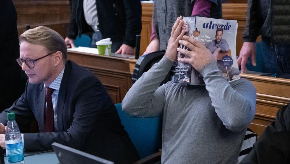 """Angeklagter im Berliner Landgericht: """"Sehr professionell, gezielt und gut informiert"""" (Archivbild)"""