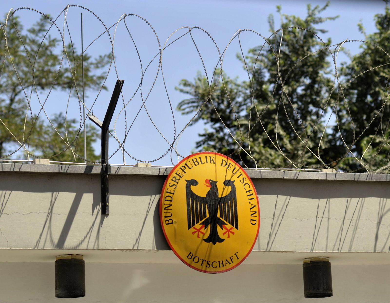 NICHT VERWENDEN Deutsche Botschaft / Deutsche Vertretung in Kabul