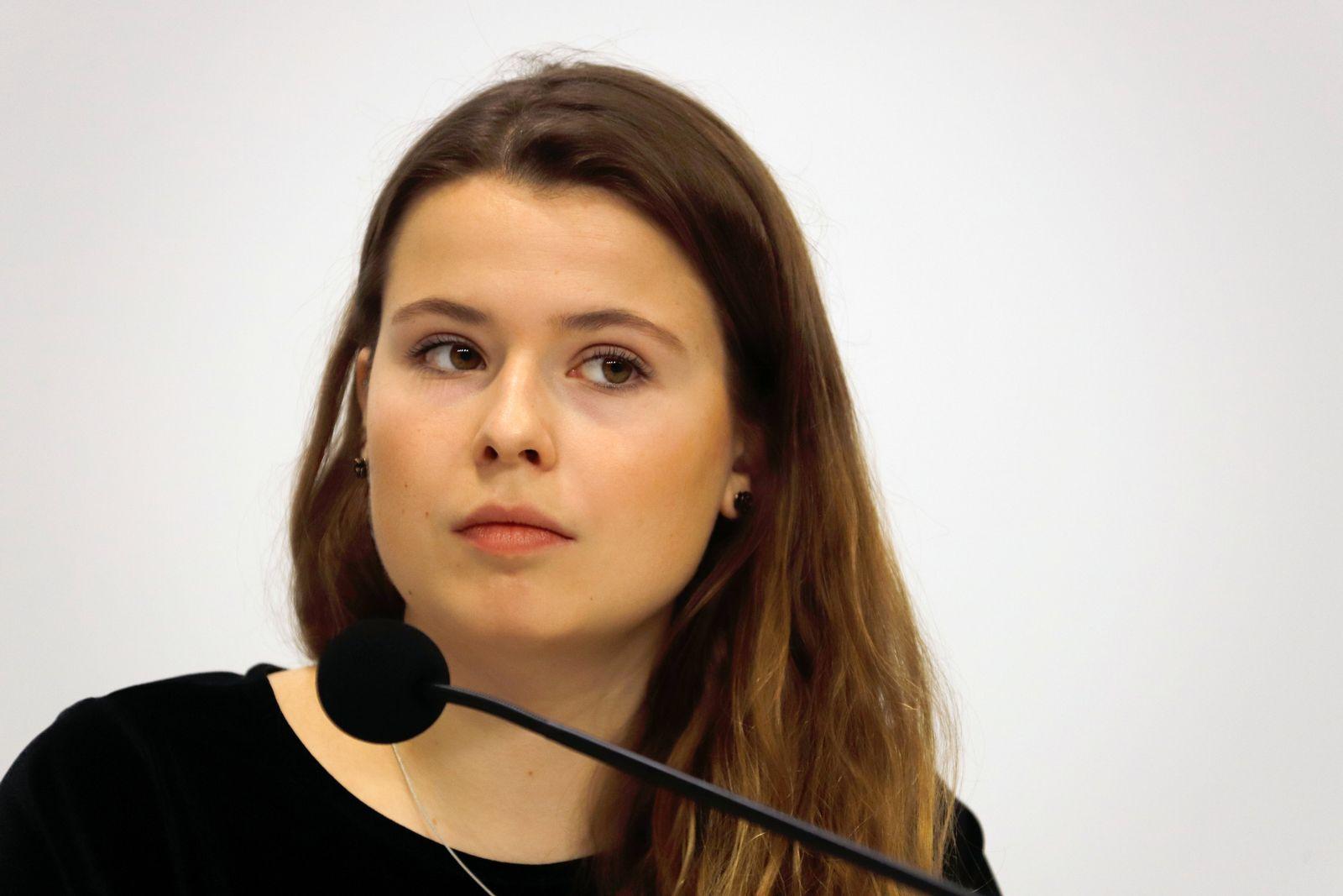 Klimaaktivistin Luisa Neubauer