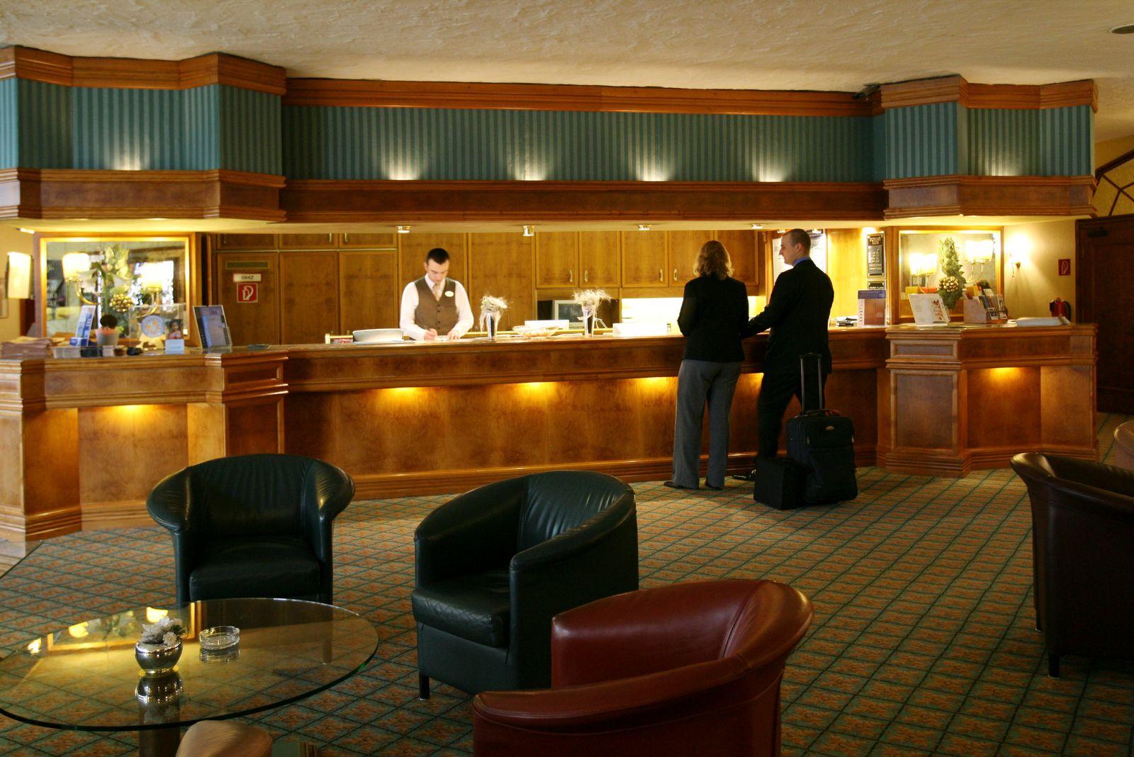 NICHT VERWENDEN SYMBOLBILD Hotelgewerbe