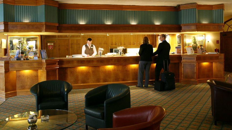 Hotellobby: Minijobber stark in der Tourismusbranche vertreten