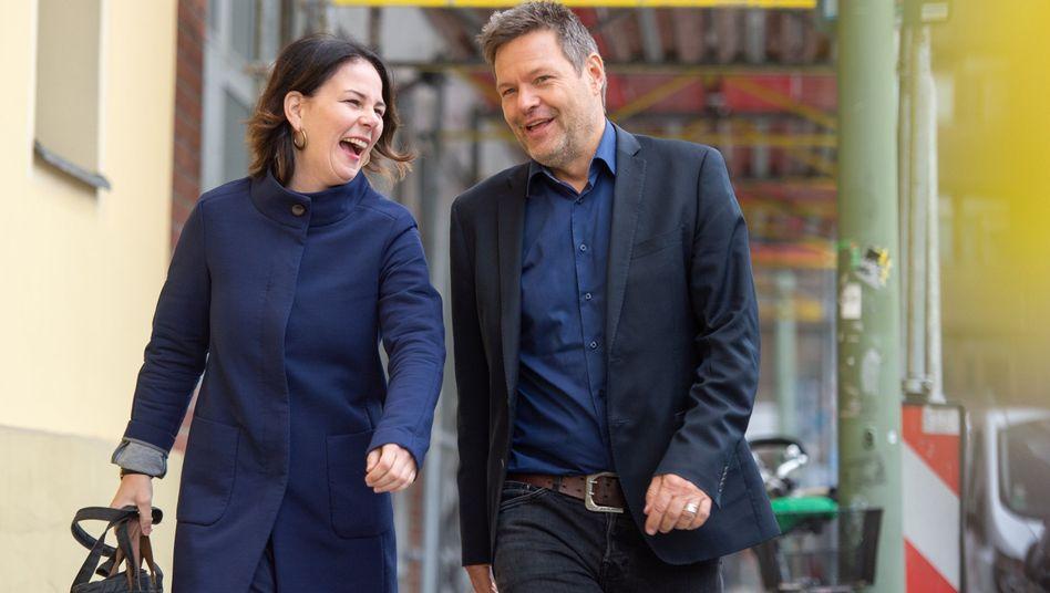 Parteichefs Robert Habeck und Annalena Baerbock: Für die Massen wählbar werden