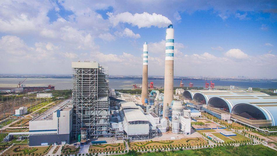 Wärmekraftwerk in China