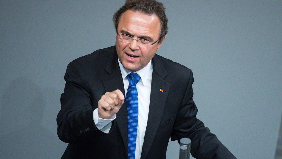 Hans-Peter Friedrich (CSU) im Bundestag