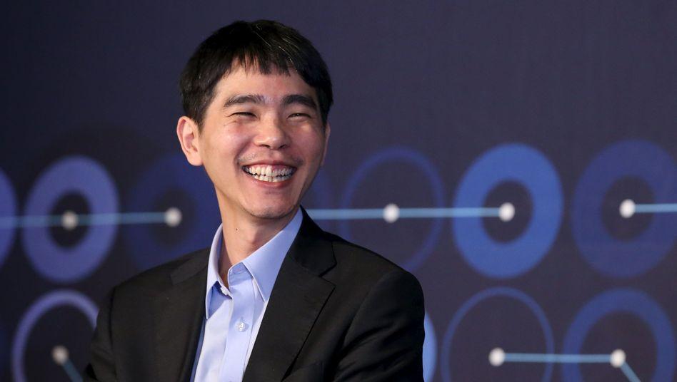 Lee Sedol nach seinem Sieg