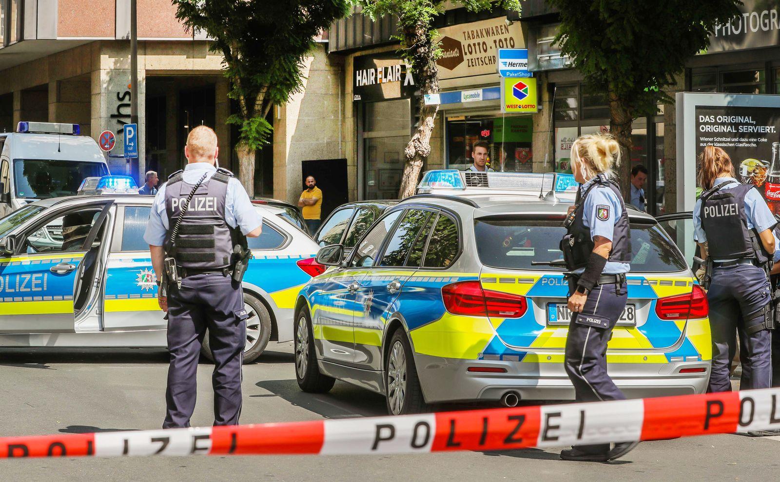 Schießerei in Dortmunder Friseursalon