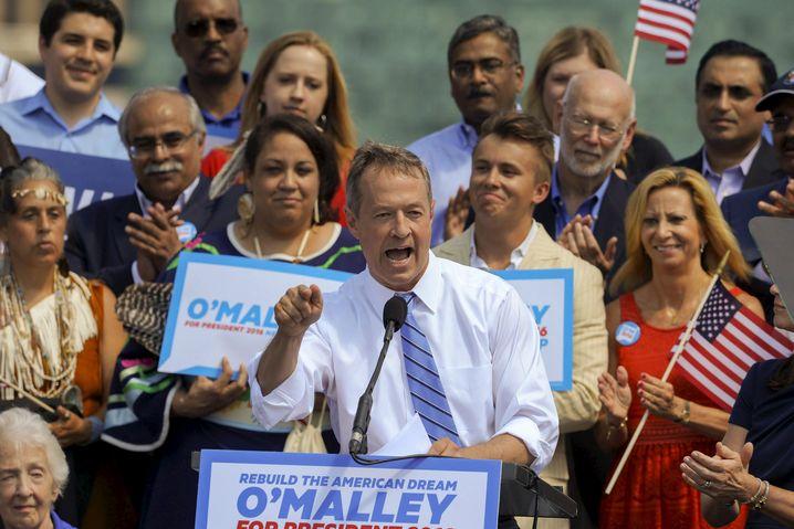 Martin O'Malley: Kandidat der Demokraten für das Präsidentenamt in den USA
