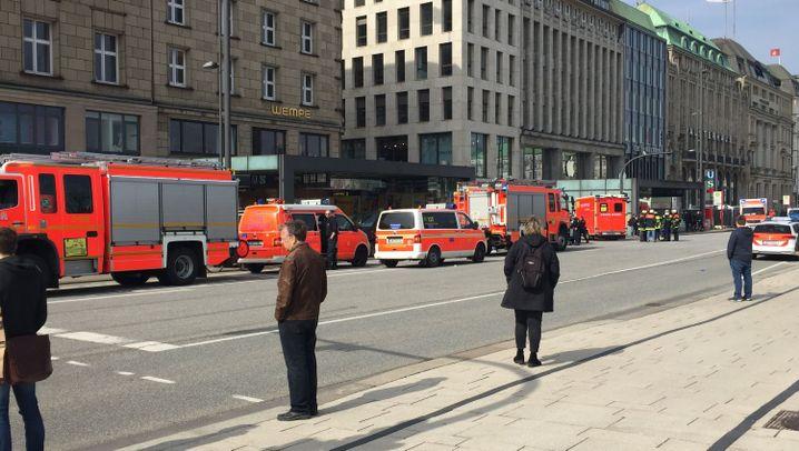 Hamburg: Messerangriff am Jungfernstieg