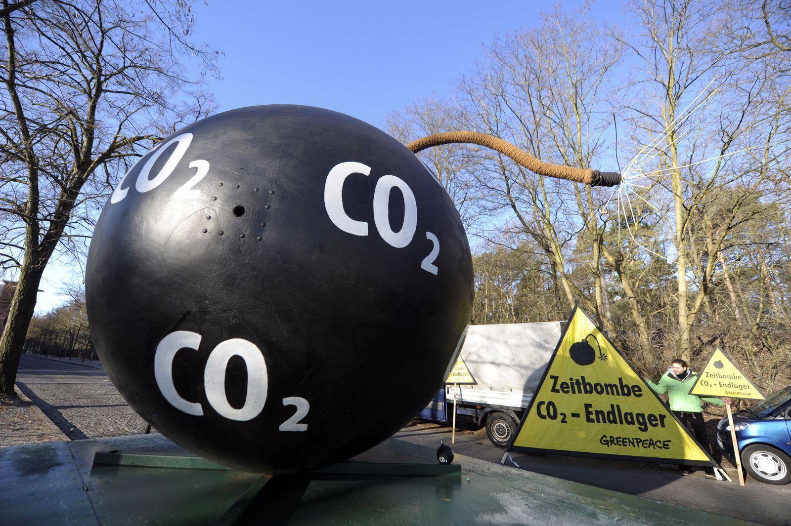 NICHT VERWENDEN CCS-Technologie / CO2 / Protest