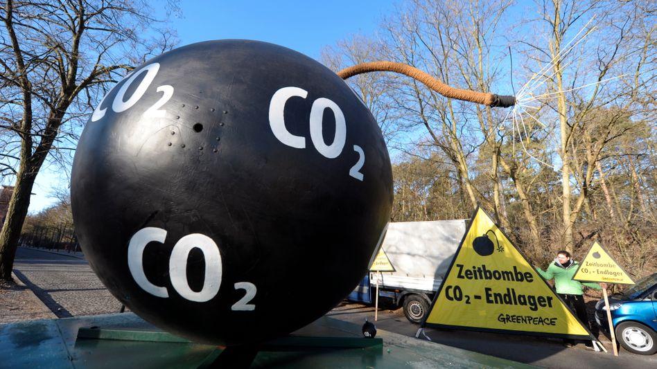 Protest gegen CCS: Die CO2-Speicherung im Erdboden ist umstritten