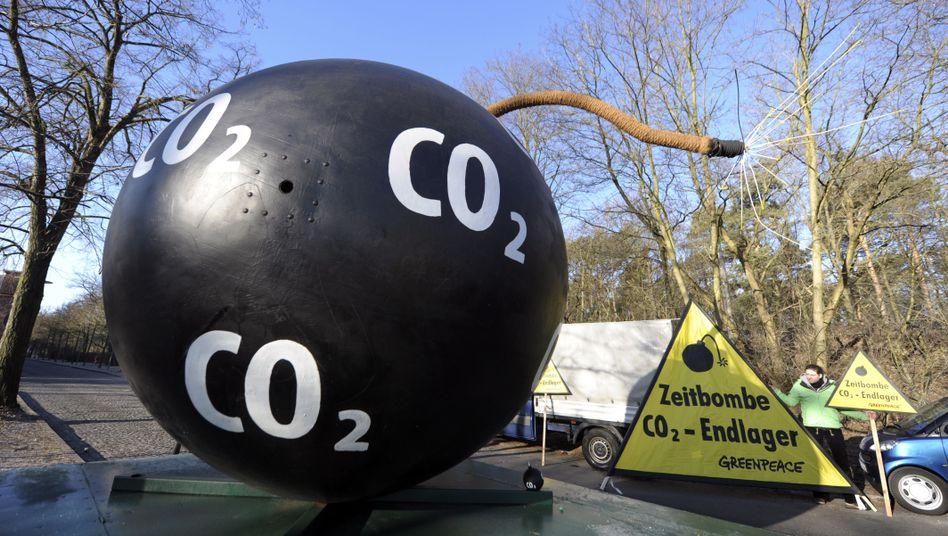 Protest gegen CCS-Technologie (März 2011): Nun gibt es ein gültiges Gesetz