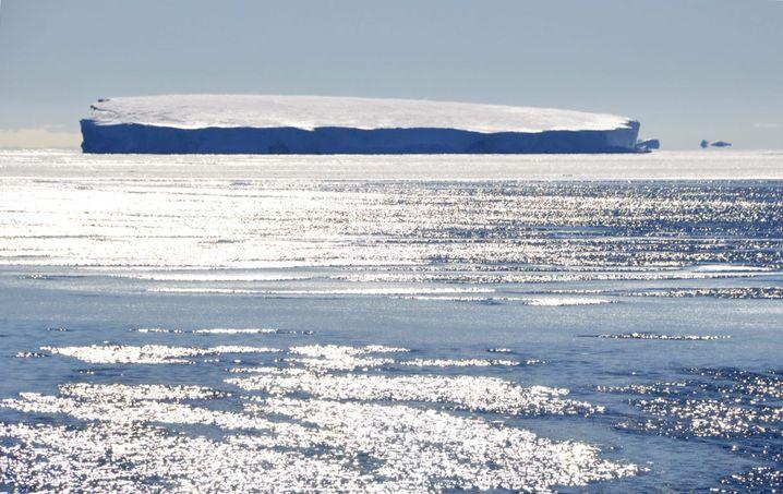 Küste der Antarktis: Entdeckung in der Tiefe
