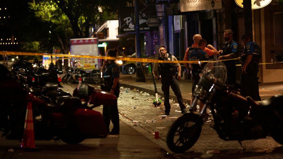 Tatort in Austin: Schüsse im Ausgehviertel