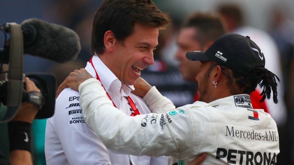 Formel 1: Mercedes-Chef Toto Wolff ist der Mann hinter den Erfolgen - DER  SPIEGEL