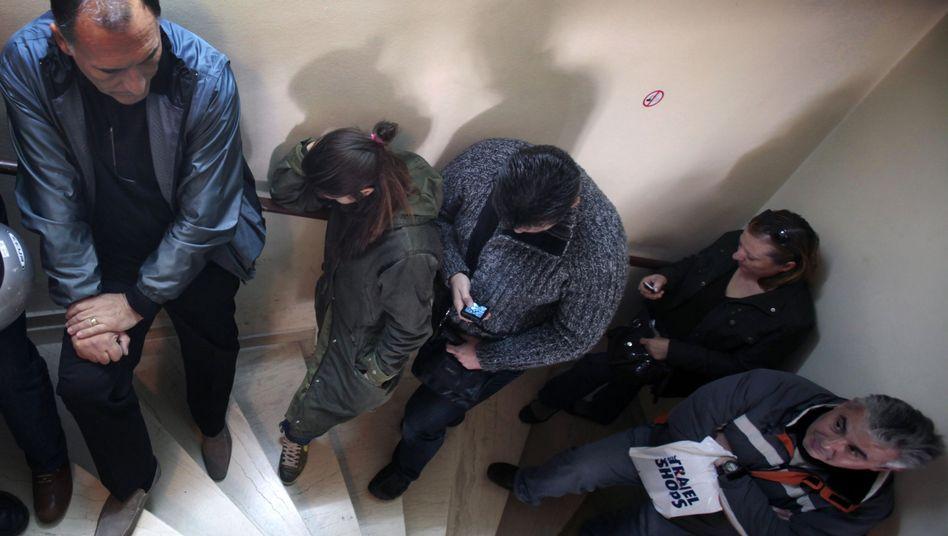 Arbeitslose in Athen: Bangen um die Existenz